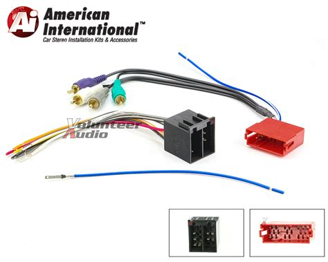 2006 volkswagen b6 monsoon lifier harness wiring
