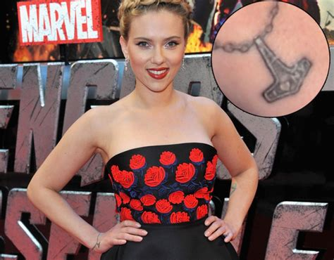 scarlett johansson tattoos scarjo reveals new i ny ny daily news