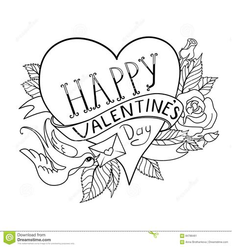 heart tattoo old school vector valentines day card old school tattoo style stock vector