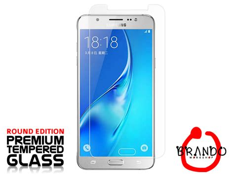 Samsung Galaxy J5 2016 Zineq Tempered Glass Anti Gores Screen Guard brando workshop premium tempered glass protector rounded edition samsung galaxy j5 2016 j510
