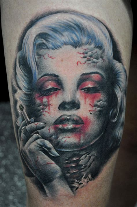 smoking tattoos 30 marilyn tattoos amazing ideas