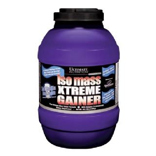 Isomass Xtreme Gainer Ultimate Nutrition Iso Mass Xtreme Gainer 10 11 Lb
