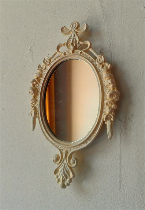 small decorative wall mirrors decorative wall mirror in small vintage white frame