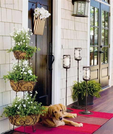 spring decorating ideas for your front door how to spruce up your porch for spring 31 ideas digsdigs