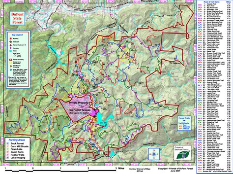 carolina forest trail map dupont state forest trail map brevard carolina