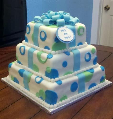 Boy Or Baby Shower Cake by Boy Oh Boy Baby Shower Cake Cakecentral