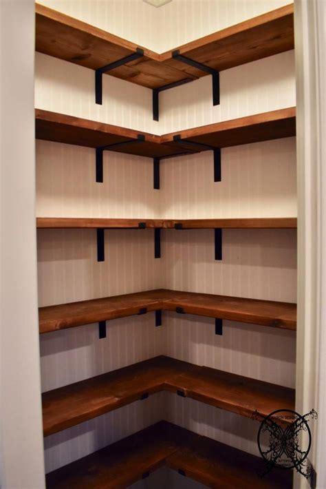 diy farmhouse pantry shelves jenron designs