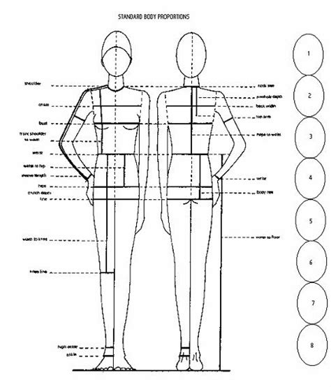 pattern drafting for beginners body proportions weekend designer