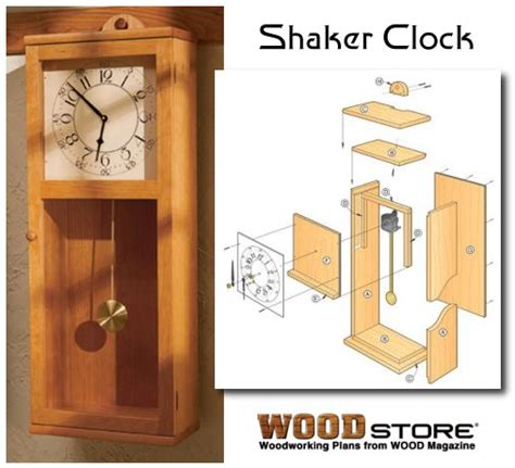 wall clock plans woodworking shaker style wall clock plans liquor chest plans