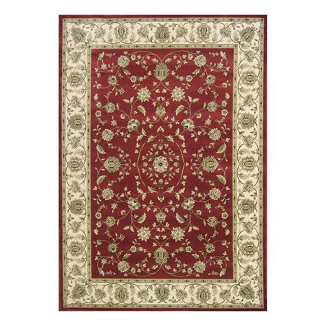 natco area rugs natco kurdamir rockland crimson 7 ft 10 in x 10 ft 10 in area rug 2070cn81h the home depot