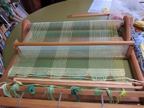 rug looms for weaving thinking out loud weaving a rag rug on the rigid heddle loom