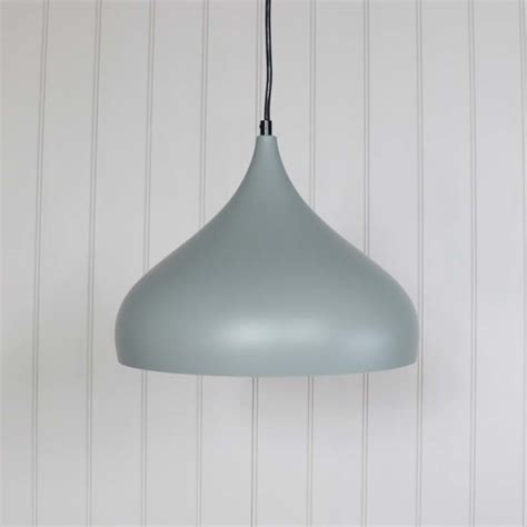 Dome Pendant Ceiling Light Grey Metal Dome Pendant Ceiling Light Fitting Melody Maison 174