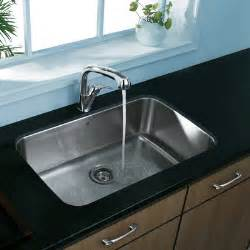 Single Undermount Kitchen Sinks Vigo 30 Quot X 18 Quot Undermount Kitchen Sink Reviews Wayfair