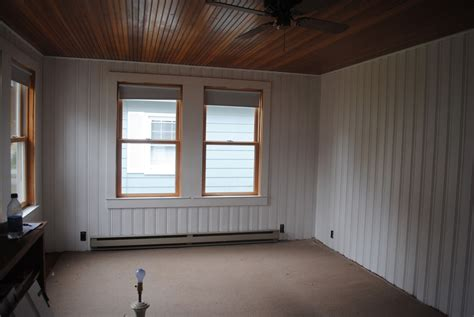 painted wall paneling house by holly to paint knotty pine or not paint knotty