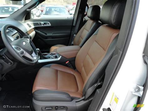 charcoal black pecan interior 2012 ford explorer limited