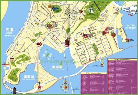 on map map of macau 187 travel