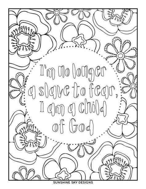 I Am A Child Of God Coloring Page by Coloring Page Child Of God Printable Instant Digital