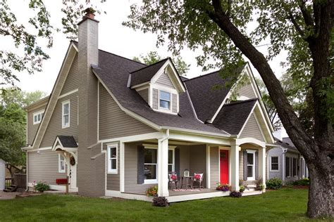 brown house colors exterior traditional with pillars