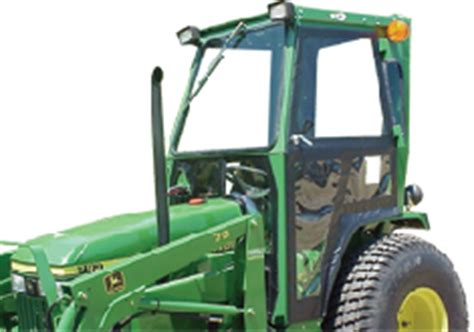 john deere tractor cabs and cab enclosures sims cab depot