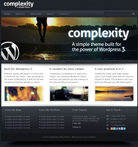 A Gorgeous Web Templates 01 Psd Layered Free Psd In Photoshop Psd Psd File Format Format Layered Photoshop Templates