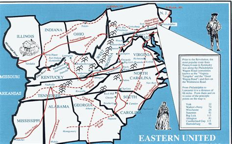 road map eastern us states discovering family histories geographics usa