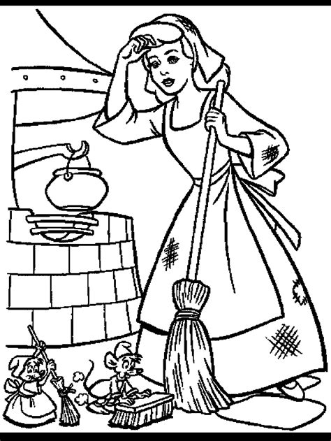 cinderella coloring pages online free games printable cinderella story many interesting cliparts