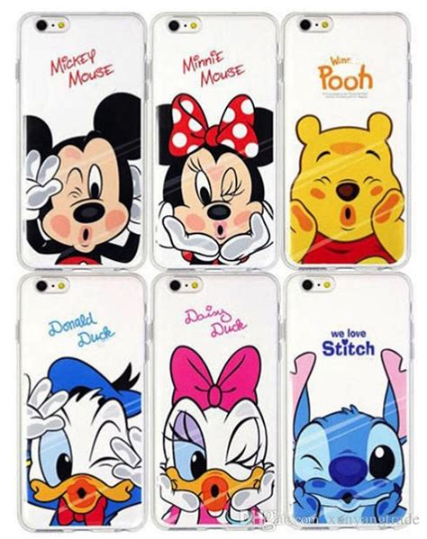 Iphone 5 Sai 7 Plus Custom Softcase Casing Sinar Ba 007 for iphone 7 mickey minnie painting clear transparent soft tpu cases back