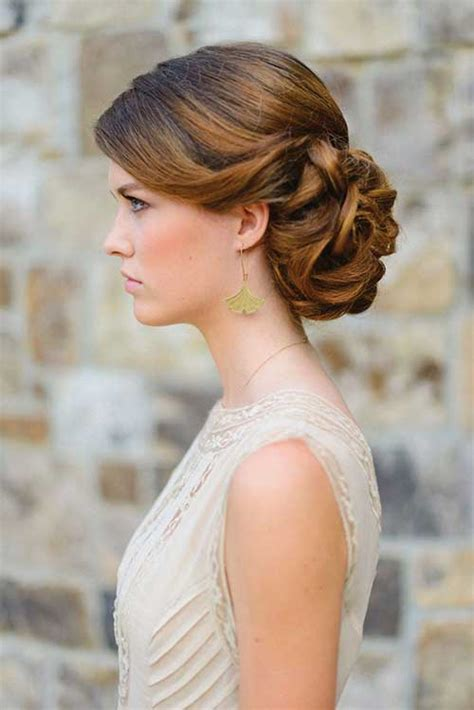 Bridal Hairstyles Low Bun With Flowers by 40 Wedding Hair Images Hairstyles Haircuts 2016 2017