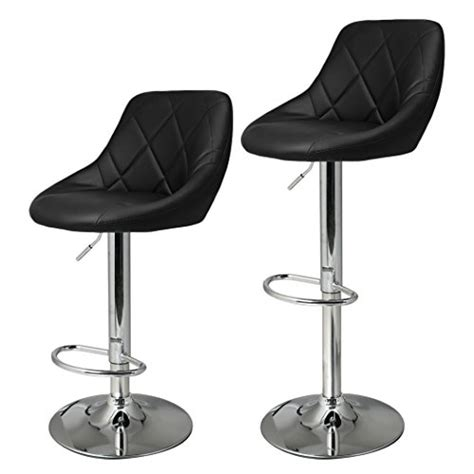 adjustable height bar stools uk uk stock cravog 2pcs synthetic leather adjustable