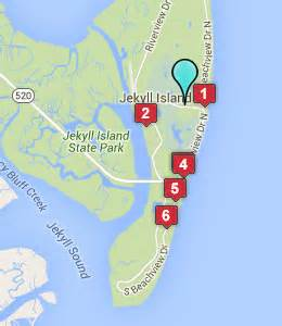 map of jekyll island jekyll island ga hotels motels see all discounts
