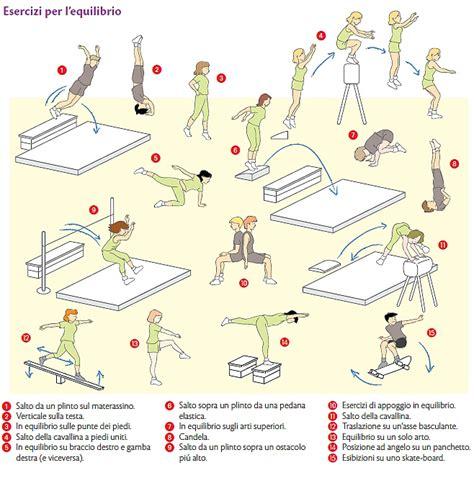esercizi sul tappeto elastico pi 249 che sportivo le basi della scienza motoria