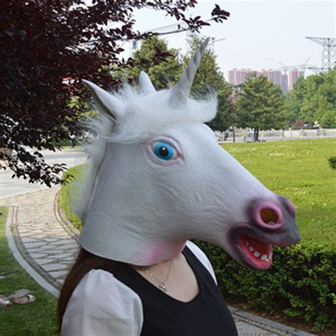 aliexpress unicorn popular funny unicorn mask buy cheap funny unicorn mask