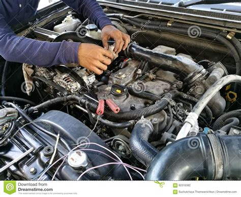 car engine service car service engine repair check up maintenance auto