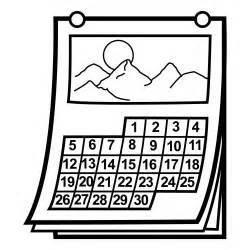 Calendario Para Colorear Pinto Dibujos Calendario Para Colorear