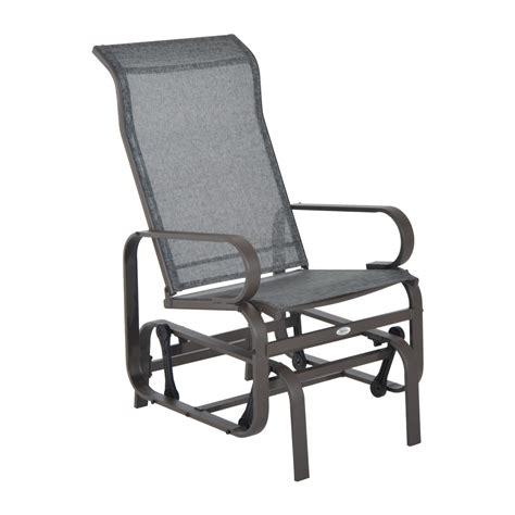 Outsunny Patio Glider Chair   Aosom.ca