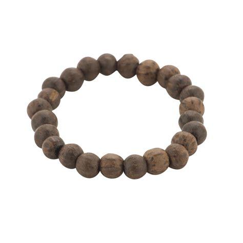 wood bead bracelets new brown bead wood chunky surf bracelet wristband by