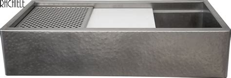 hammered stainless steel sink custom stainless steel workstation kitchen sinks that look