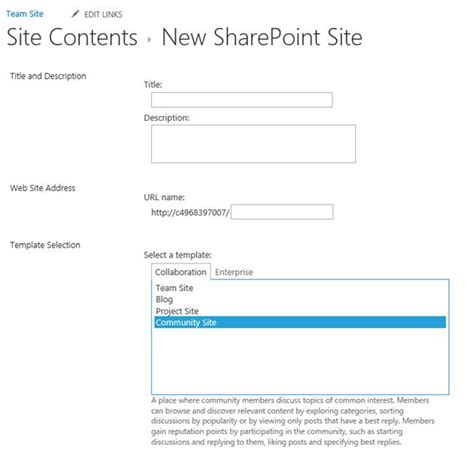 how to create a site template in sharepoint 2013 how to create a community site in sharepoint 2013