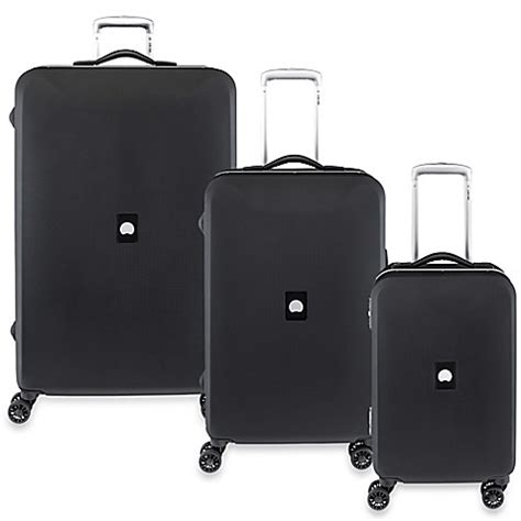 bed bath and beyond suitcases delsey paris honore spinner trolley luggage collection