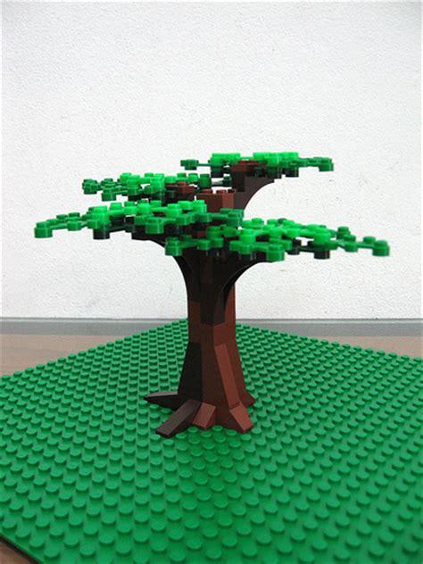 tree lego lego tree moc flickr photo
