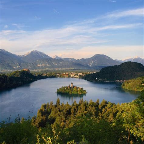 lake bled slovenia beautiful places to visit