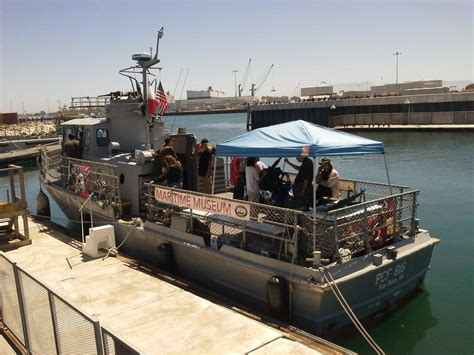 swift boat as swift boat coastal cruise maritime museum of san diego