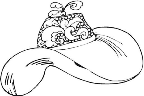 coloring pages of women s hats women s hats coloring pages woman pinterest