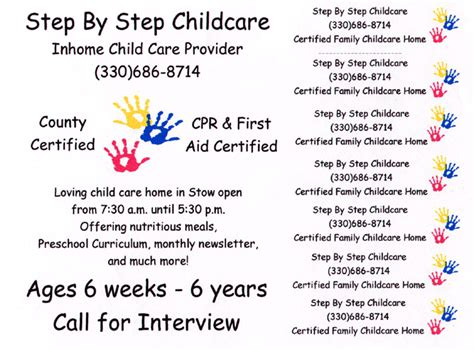Daycare Advertising Exles by Http Stepbystepcc Forms Flyer Gif Daycare