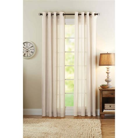 better homes and gardens embroidered sheer curtain panel curtains amazing tan sheer curtains vcny khara