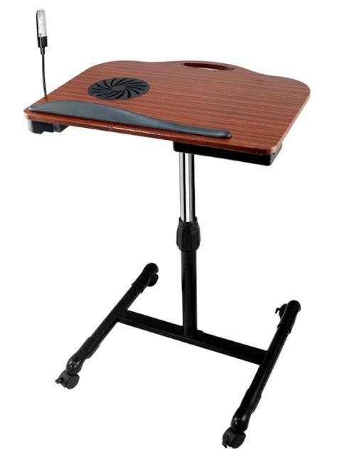 laptop desk with fan 75 discount adjustable wooden laptop desk gadgets matrix