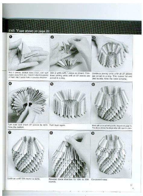 3d Origami Step By Step - 3d origami step by step illustrations more origami