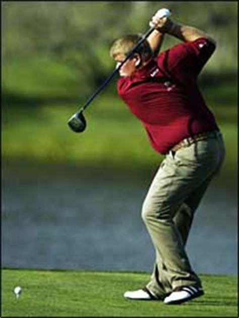 john daly swing bbc sport golf always roaring never boring