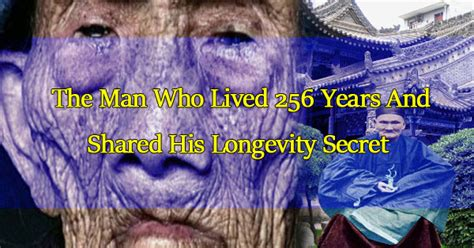 Ginseng Daily Shoo meet li ching yuen the who lived 256 years and