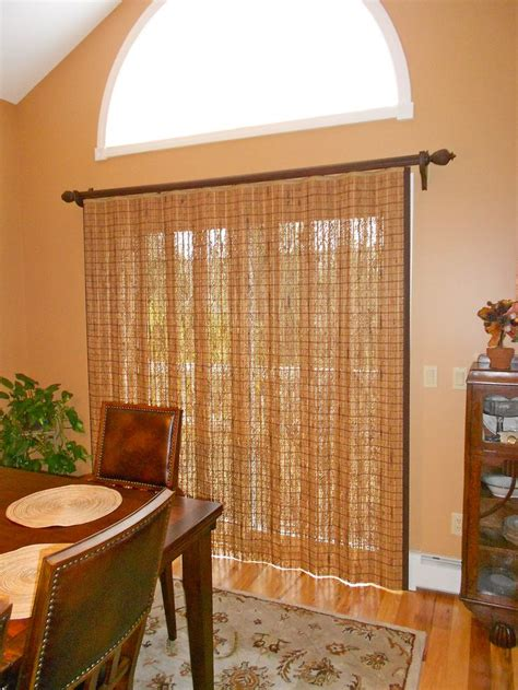Wood Blinds For Sliding Glass Doors 17 Best Images About Woven Shades On Window Treatments Woven Shades And The